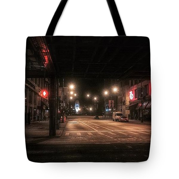 Looking East From Wabash Tote Bag