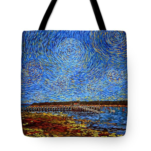 Looking East - St Andrews Wharf 2013 Tote Bag