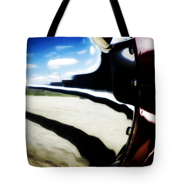 Tote Bag featuring the photograph Looking Forward by Paul Job