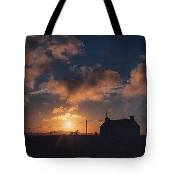 Looking Forward To Being Home... At Tote Bag