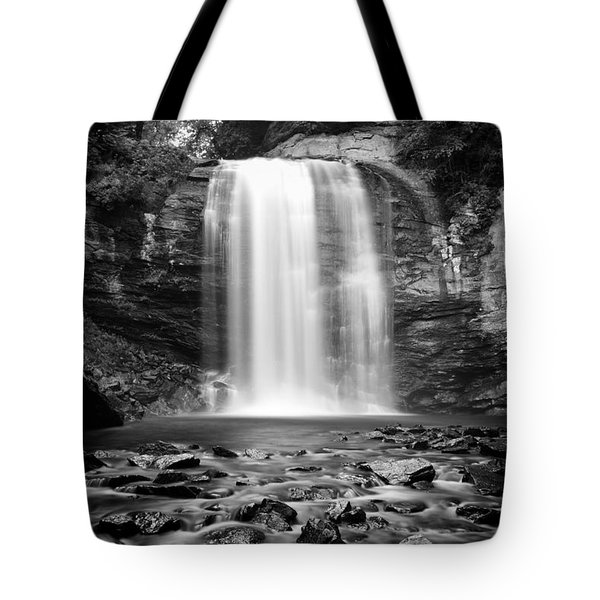 Tote Bag featuring the photograph Looking Glass Falls Number 20 by Ben Shields