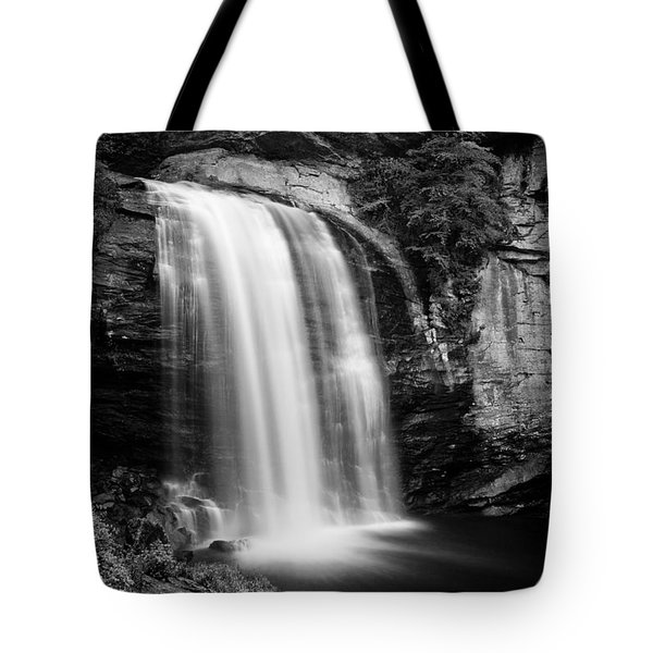 Tote Bag featuring the photograph Looking Glass Falls Number 21 by Ben Shields