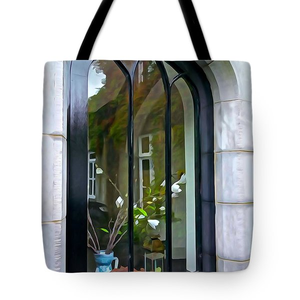 Tote Bag featuring the photograph Looking In by Charlie and Norma Brock