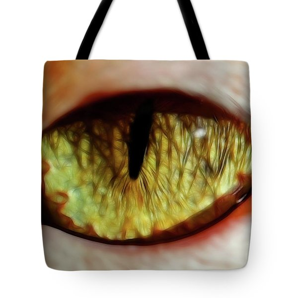 Looking Into The Soul Tote Bag by Mariola Bitner