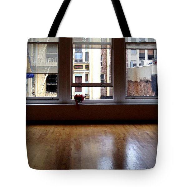 Looking Out Tote Bag by Julie Gebhardt