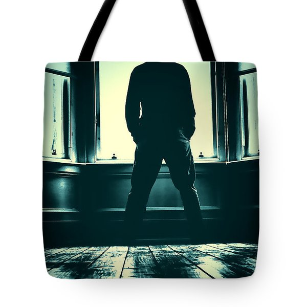 Tote Bag featuring the photograph Looking Out Window by Craig B