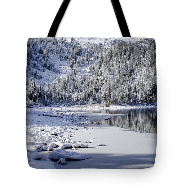 Looking Over Mcleod Tote Bag by Chris Brannen