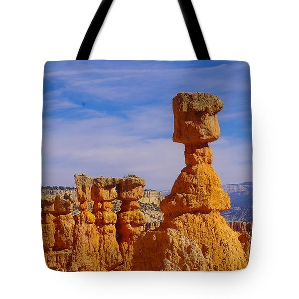 Looking Over Sunset Point  Tote Bag by Jeff Swan
