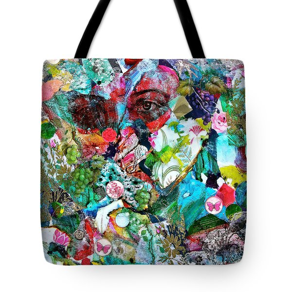 Looking Through Tote Bag