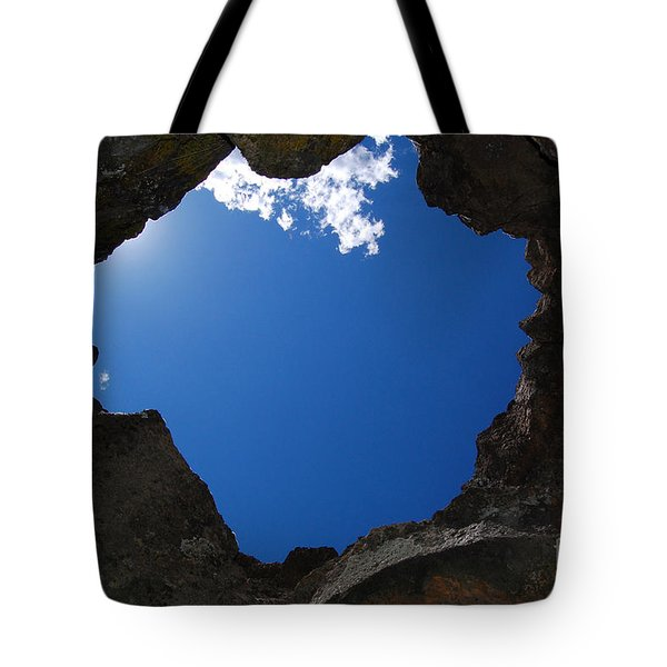 Tote Bag featuring the photograph Looking Up 2 by Debra Thompson