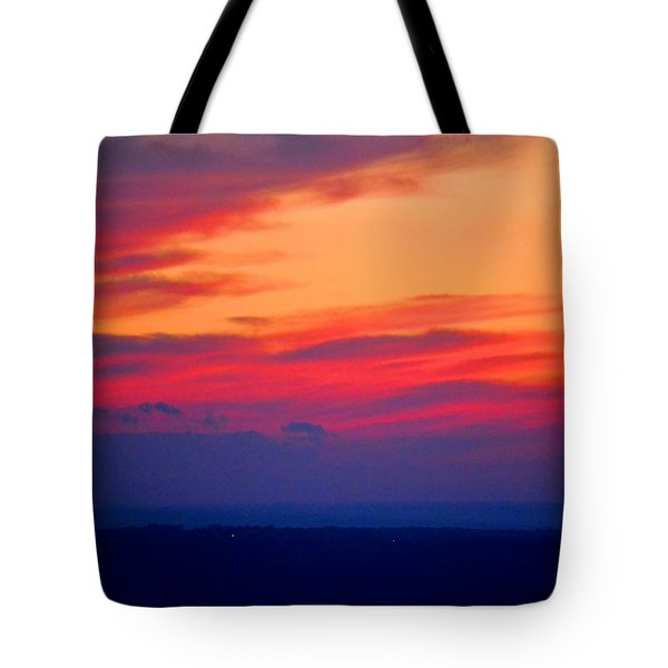 Lookout Mountain Sunset Tote Bag by Tara Potts