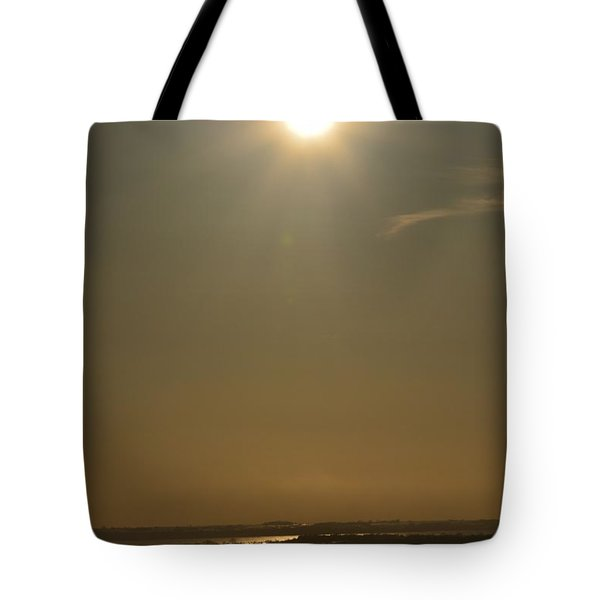 Tote Bag featuring the photograph Lookout Of Lake Minnewaska by Dacia Doroff