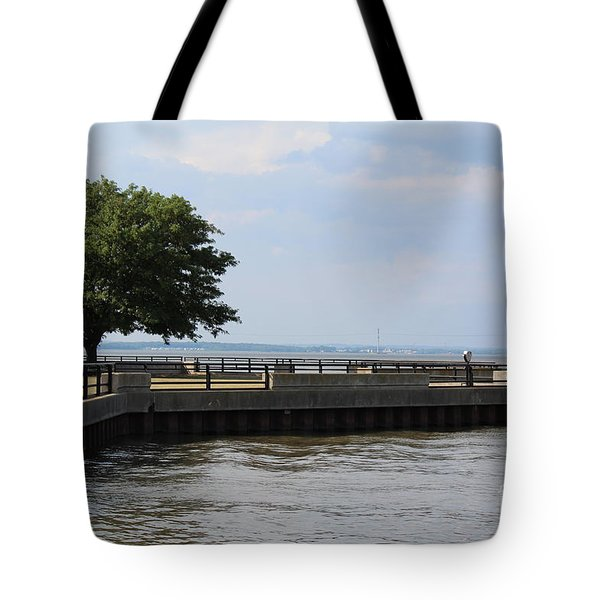 Lookout Point Tote Bag by David Jackson