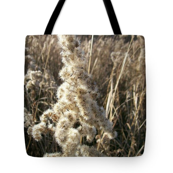 Tote Bag featuring the photograph Looks Like Cotton by Sara  Raber