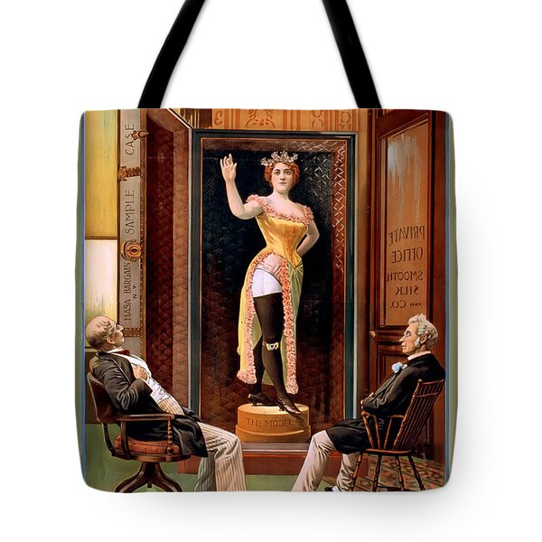 Looks Like The Real Thing Tote Bag by Terry Reynoldson