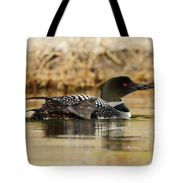 Loon 10 Tote Bag by Steven Clipperton