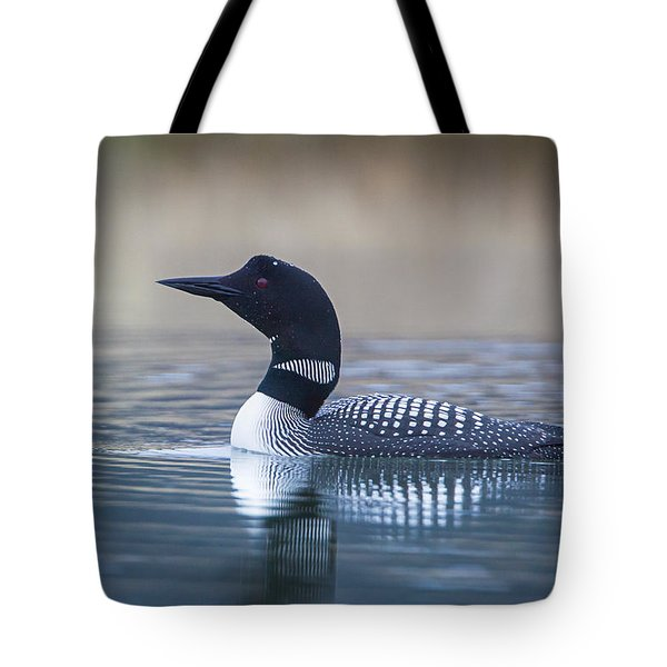 Tote Bag featuring the photograph Loon by Jack Bell