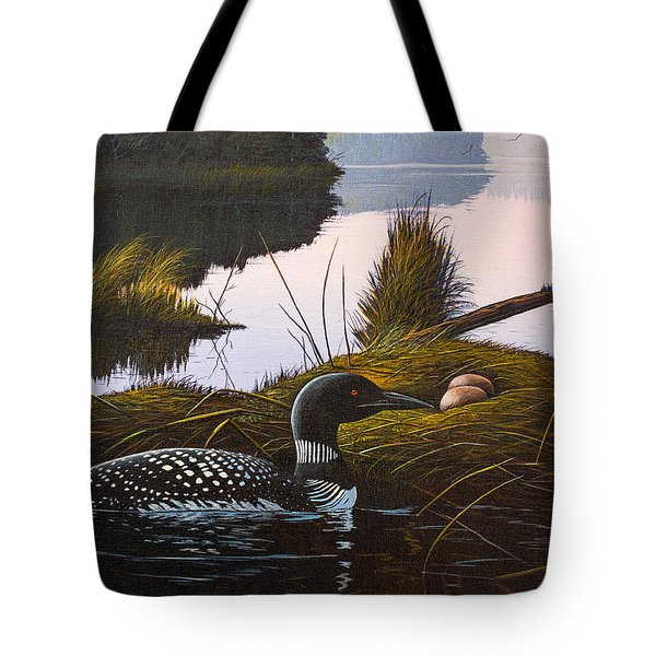 Loon Lake Tote Bag