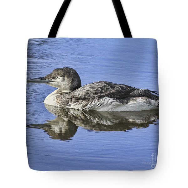 Loon On Vacation Tote Bag