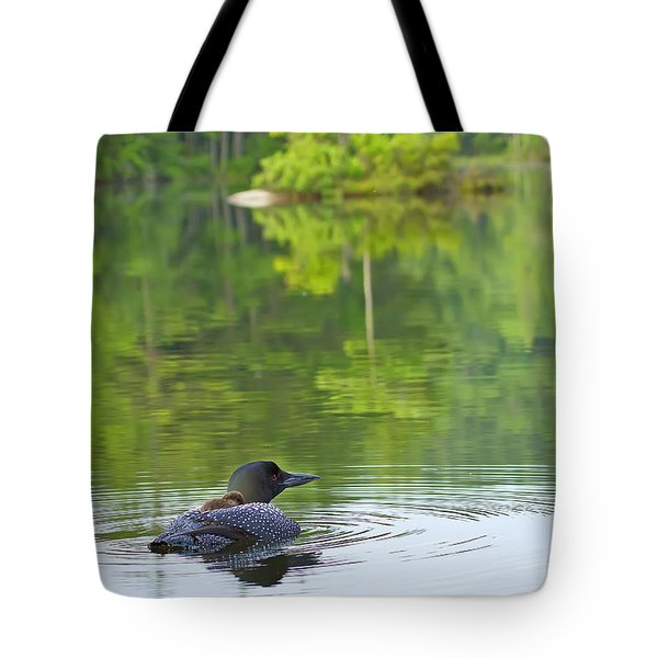 Loon Solitude Tote Bag