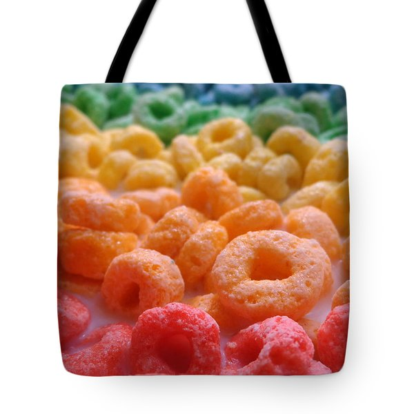 Loops Tote Bag by Joseph Skompski