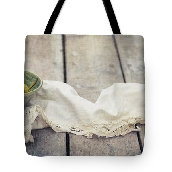 Loosely Draped Tote Bag by Priska Wettstein