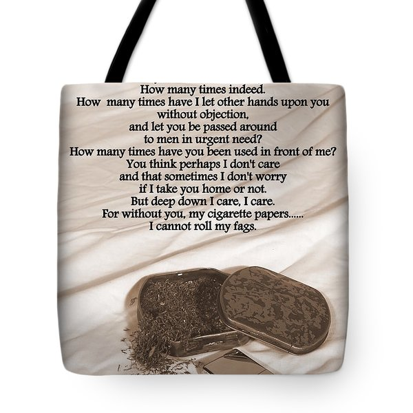 Loosely Speaking Tote Bag