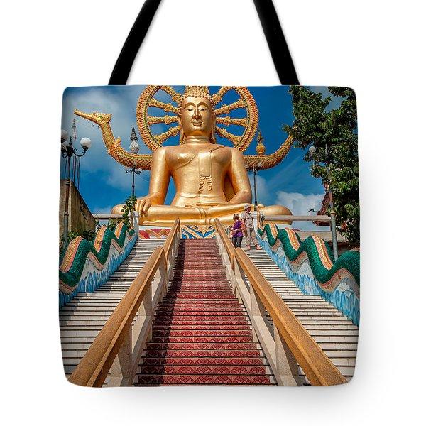 Lord Buddha Tote Bag