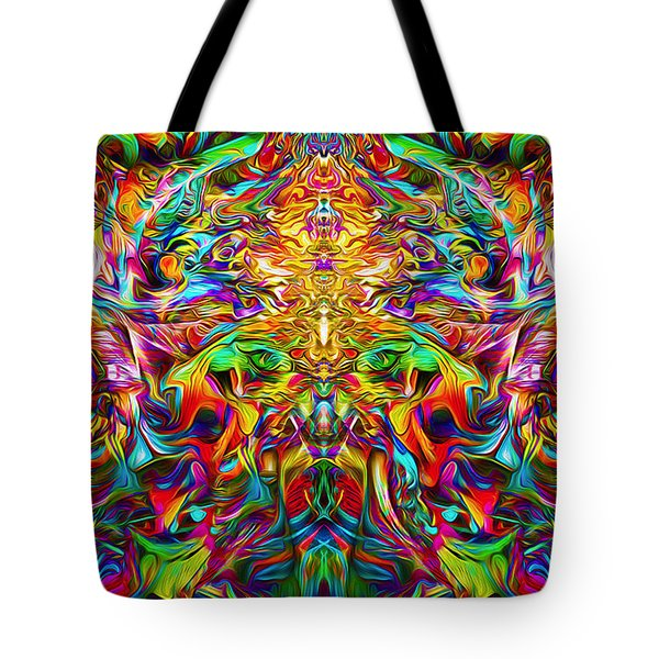 Lord Ganesha Tote Bag by Jalai Lama