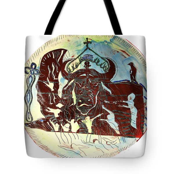 Lord Of The Dance Tote Bag by Gloria Ssali