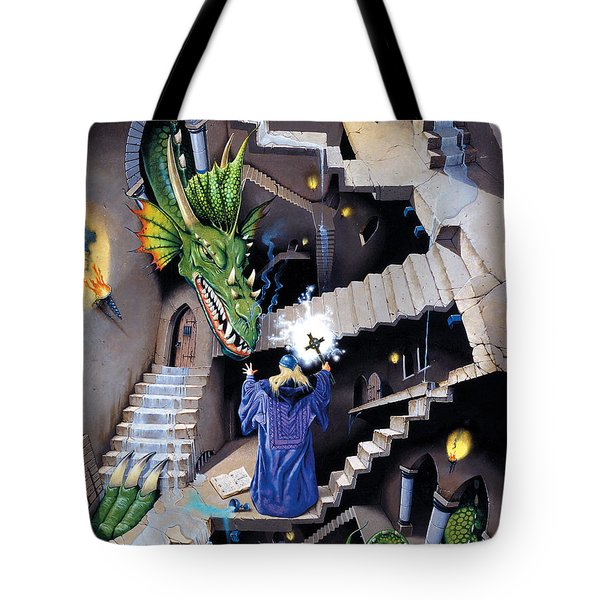 Lord Of The Dragons Tote Bag by Irvine Peacock