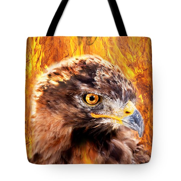 Lord Of The Last Day Tote Bag by Yngve Alexandersson