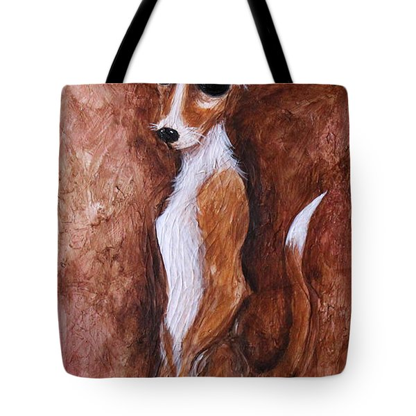 Loretta Chihuahua Big Eyes  Tote Bag