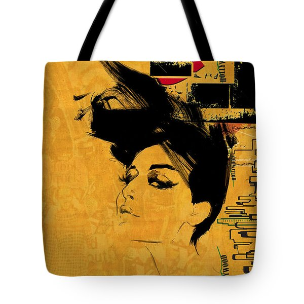 Los Angeles Collage 2 Tote Bag by Corporate Art Task Force