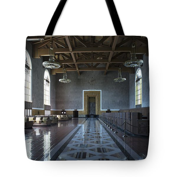 Los Angeles Union Station - Custom Tote Bag
