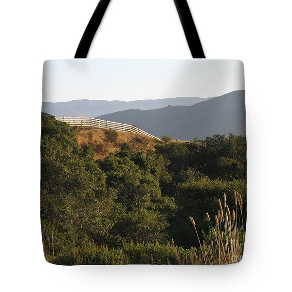 Los Laureles Ridgeline Tote Bag