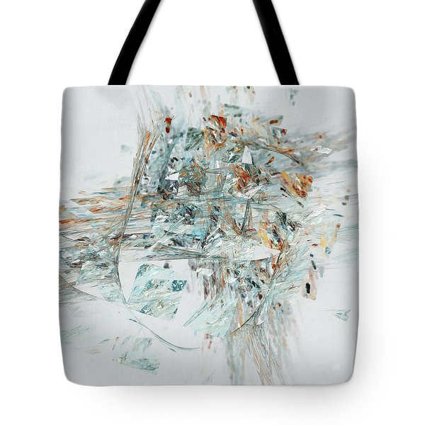 Tote Bag featuring the digital art Losing My Reality by Menega Sabidussi