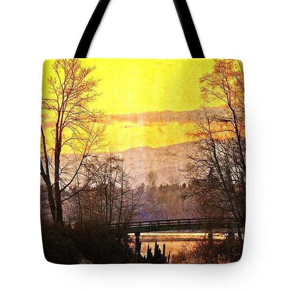 Lost Along The River Tote Bag by Eti Reid