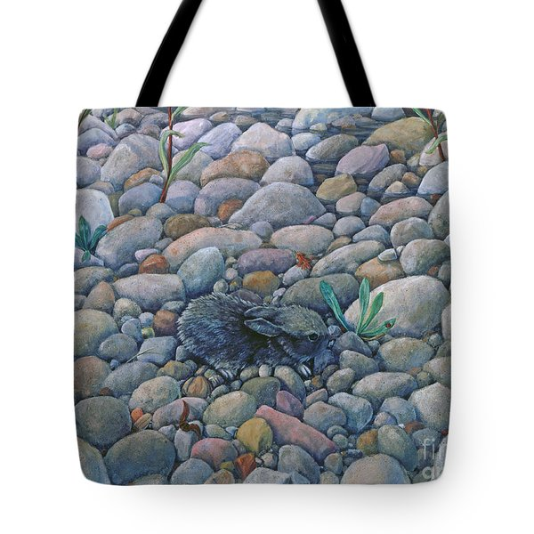 Lost And Found Rabbit Tote Bag