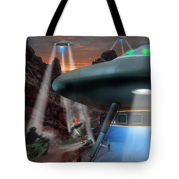Lost Film Number 4 Tote Bag by Mike McGlothlen
