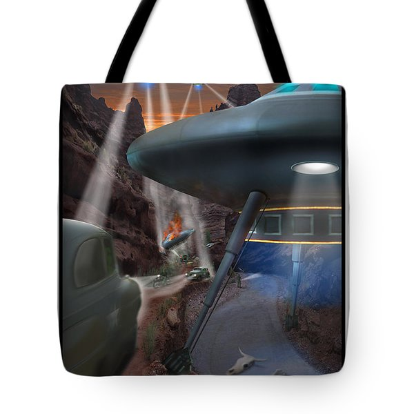 Lost Film Number 5 Tote Bag by Mike McGlothlen