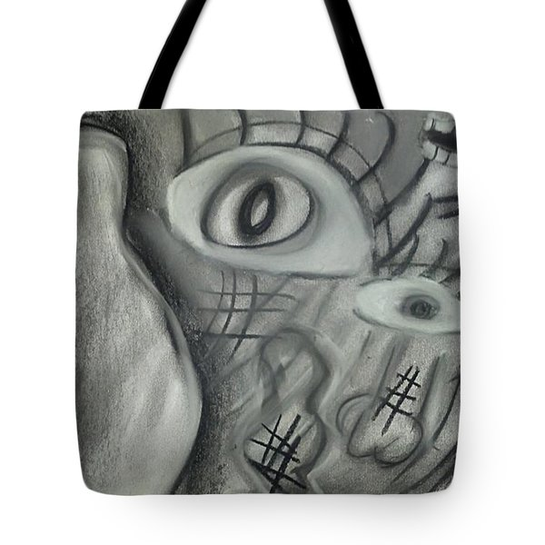 Lost In Chaos Tote Bag
