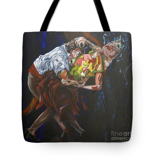 Lost In Dance Tote Bag