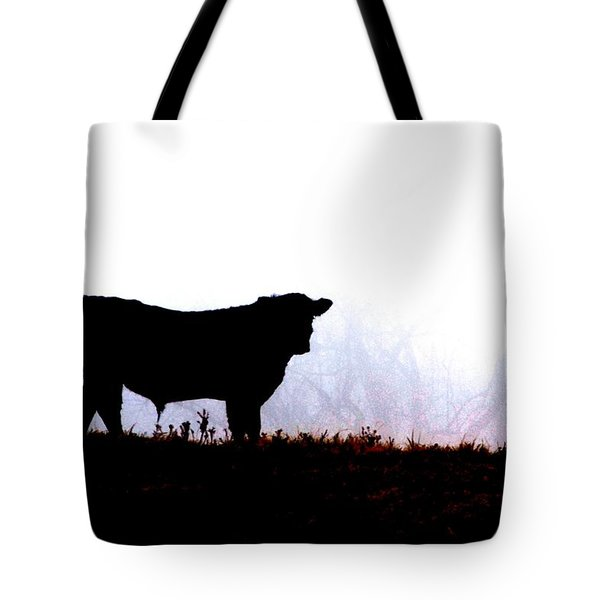 Lost In The Fog Tote Bag by Carlee Ojeda