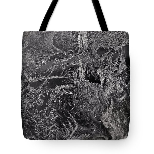 Lost In The Frost Tote Bag by Susan Capuano
