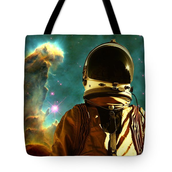 Lost In The Star Maker Tote Bag by Matthew Lacey