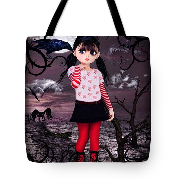 Lost Little Girl Tote Bag