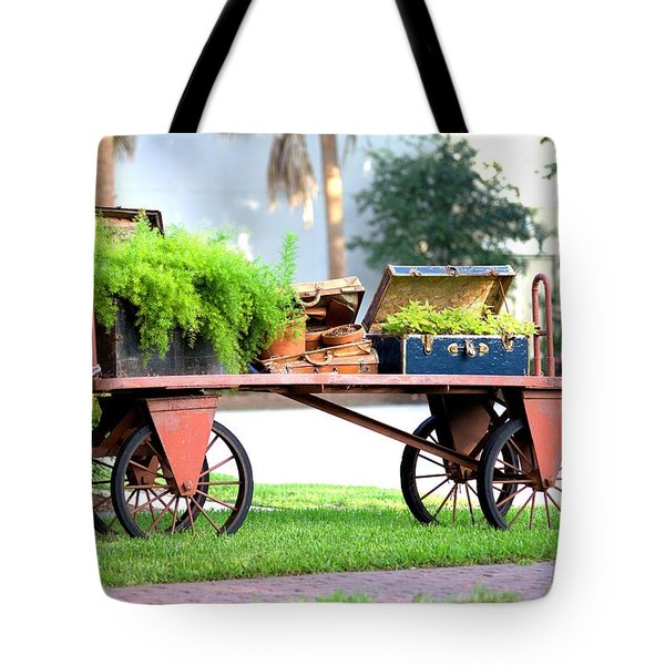 Tote Bag featuring the photograph Lost Luggage by Gordon Elwell