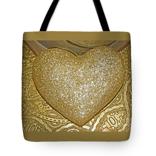 Lost My Golden Heart Tote Bag