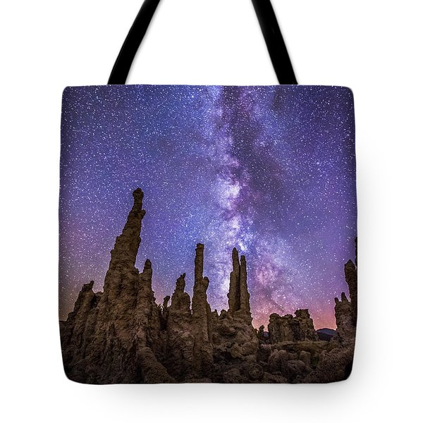 Lost Planet Tote Bag by Tassanee Angiolillo